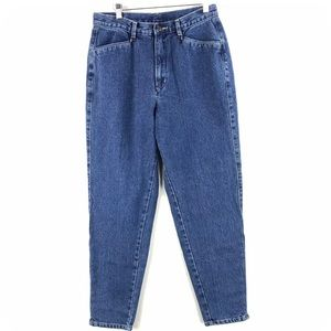 Denim - Vintage 80s Brittania High Waisted Mom Jeans